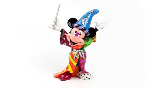 Sorcerer Mickey Figurine by Romero Britto