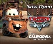 Now Open - Cars Land - Disney California Adventure