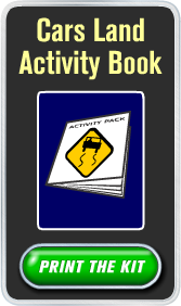 Download and Print the Cars Land Activity Book