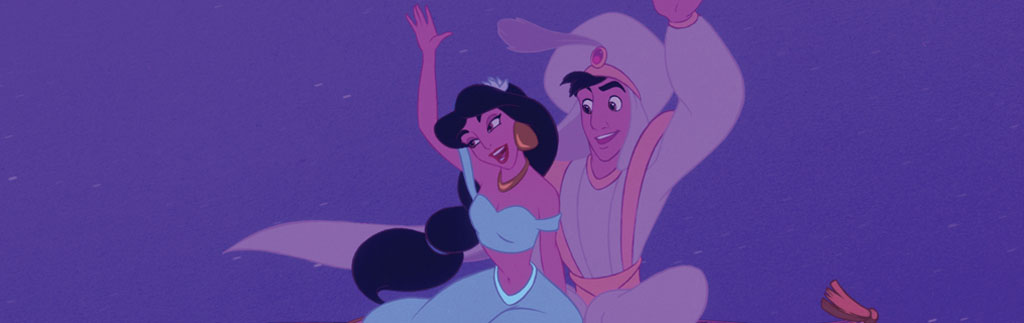 Aladdin and Jasmine Magic Carpet Ride 2