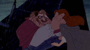 Belle and Beast Beauty and the Beast Fight Scene