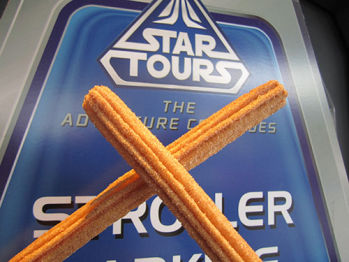 Disneyland Food Churros 2