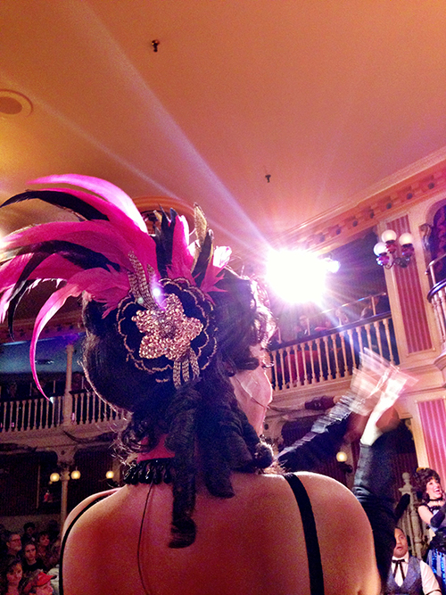Golden Horseshoe Revue Fancy Feathers