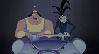 Kronk and Yzma Emperor's New Groove
