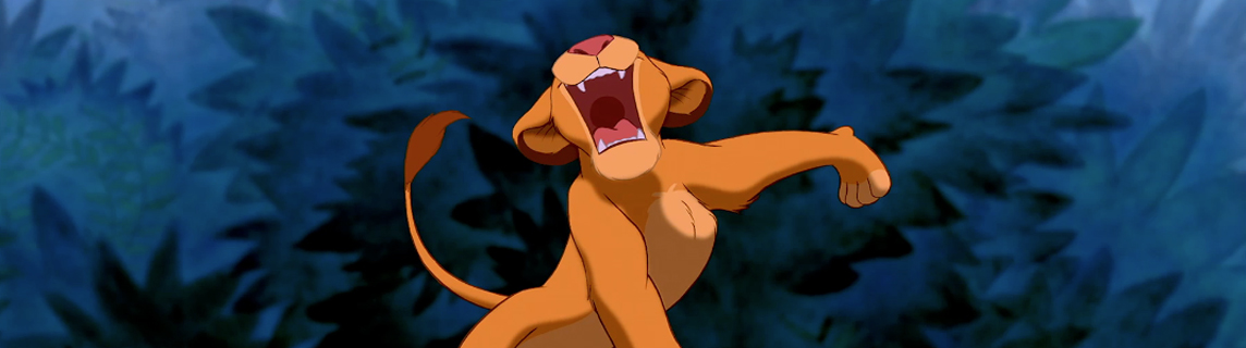 Simba I Just Can't Wait to Be King
