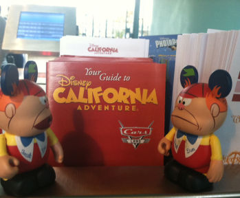 Tweedle Dee and Tweedle Dum California Adventure