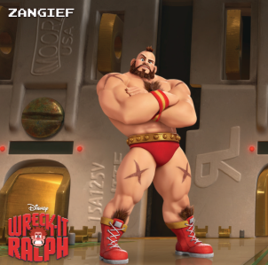 Zangief Wreck-It Awards