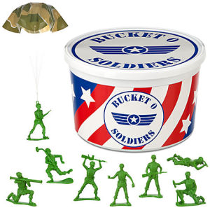 bucket o' soldiers toy set disney store