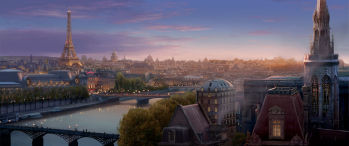 Ratatouille's Paris