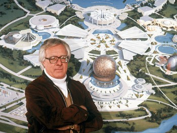 Ray Bradbury with Epcot Center