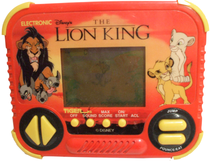 90s Lion King handheld
