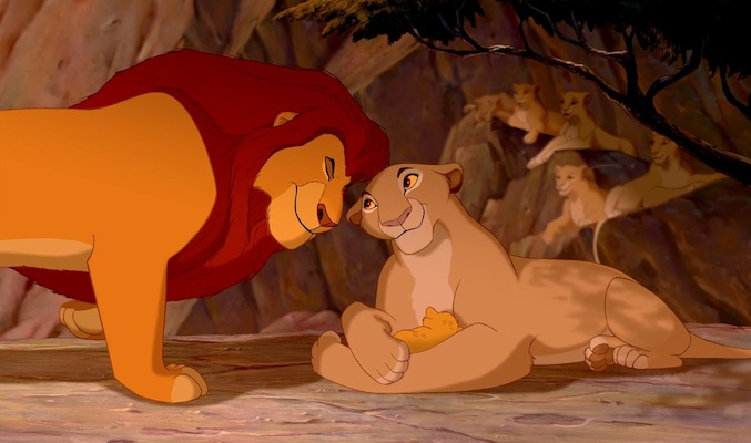 Disney Mom- Sarabi and Simba