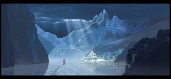 Frozen Arendelle Concept Art