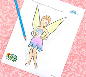 Design Your Own Fairy Fashion