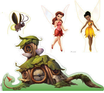 Tinker Bell and Friends Playset