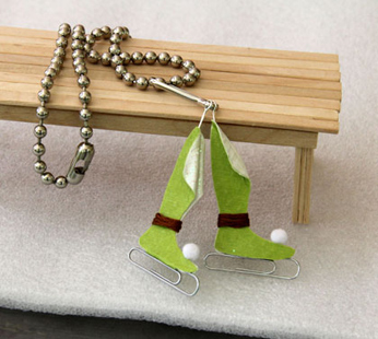 Fairy Ice Skates Necklace