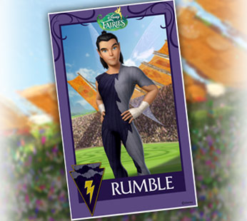 Rumble Trading Card