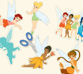 Disney Fairies Stickers - Group 1