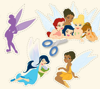 Disney Fairies Stickers - Group 6