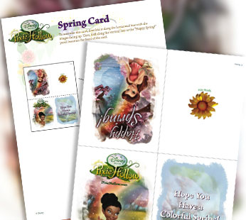 Spring Card