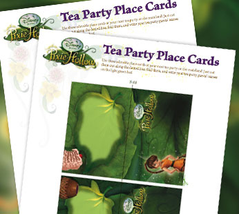 Tea Party Place Cards