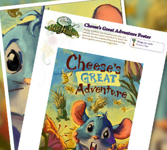 Cheese's Great Adventure Poster