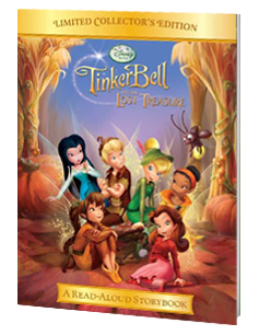 Tinker Bell and the Lost Treasure Read-Aloud Storybook