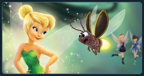 Parents Help Tinker Bell