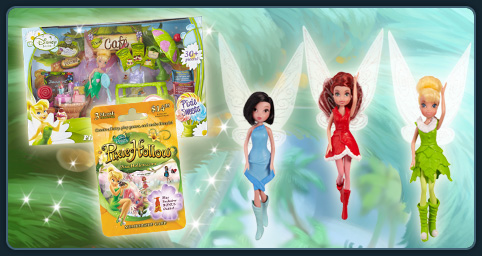 Tinker Bell Game Card