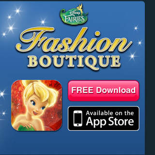 Disney Fairies Fashion Boutique - Free Download, Available on the App Store