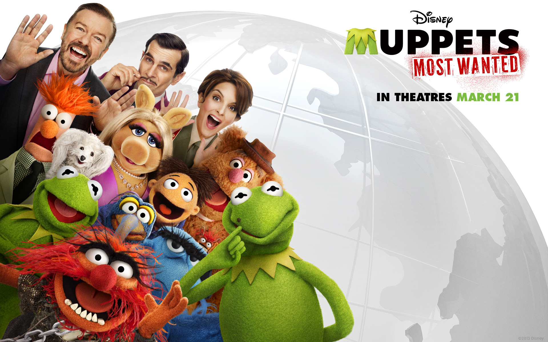 Wallpaper: Muppets Most Wanted