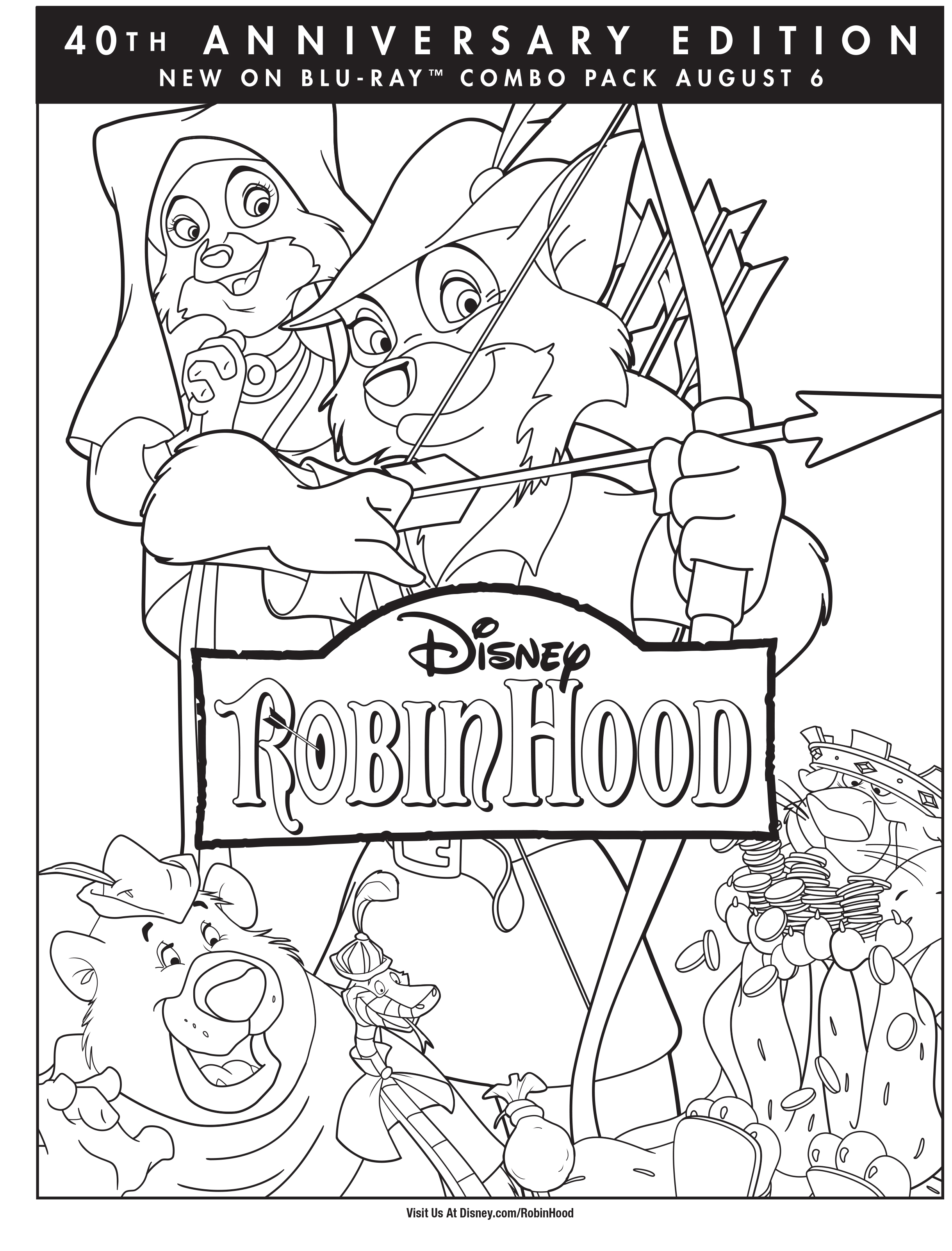 Robin Hood Activity Page