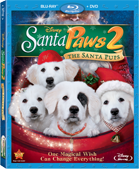 Santa Paws 2 Blu-ray Combo Pack box