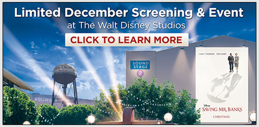 "Disney's ""Saving Mr. Banks"" In Burbank"